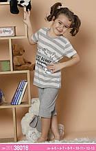 Дитячі піжами для дівчат з футболкою ,Sexen