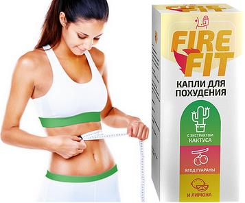 Краплі для схуднення Fire Fit (Файр Фіт)