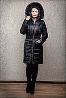 Куртка зимняя Елена черная, р. 44-58, разные цвета, фото 1