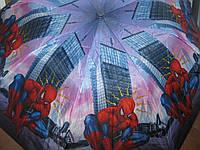Детский зонт два сложения Человек паук