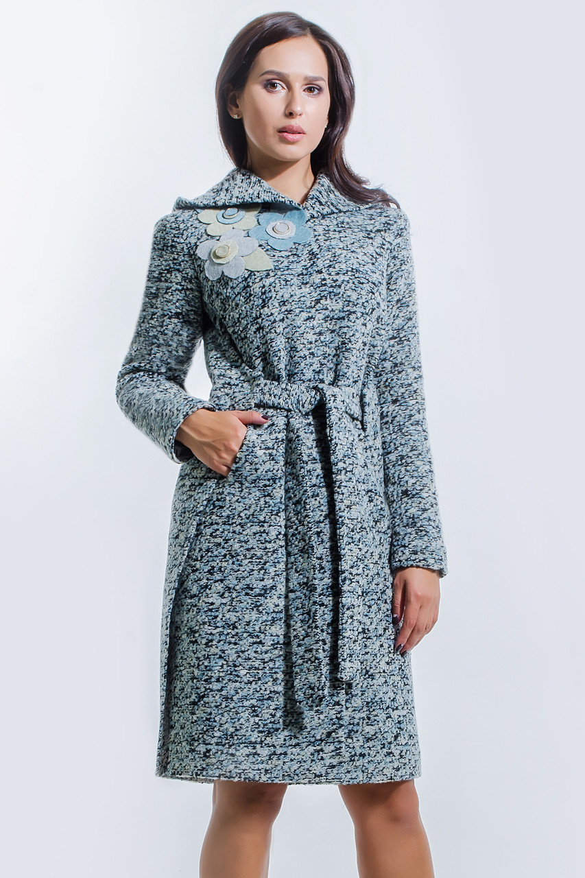 Пальто 2-494L Оливковый