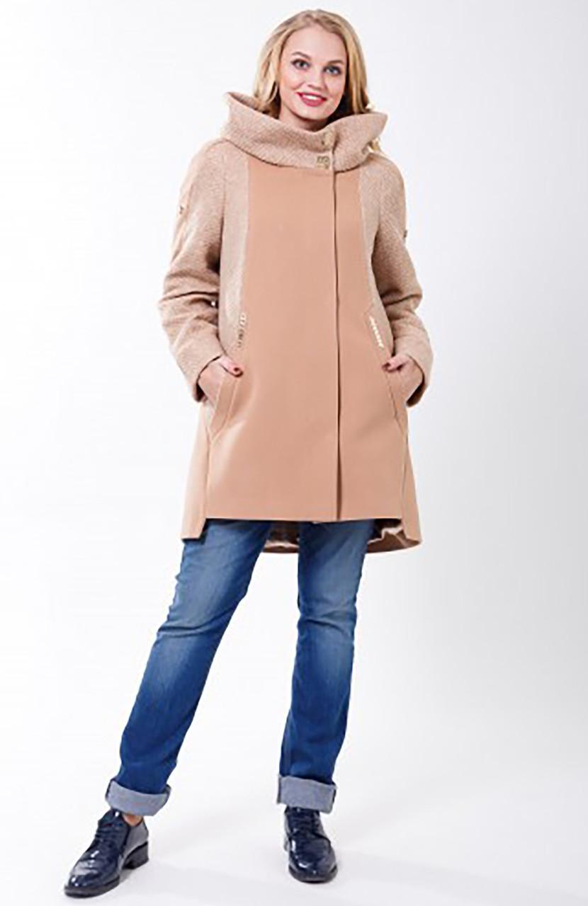 Пальто 2-581 Бежевый