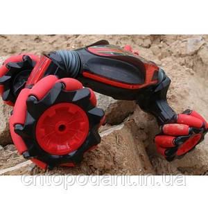 Машинка-перевертыш Stunt Трюковый автомобиль с контролем жестов SUNROZ Crab Dancing Stunt Car вездеход