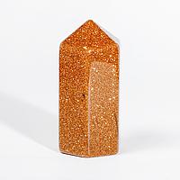 Коллекционный минерал стела из авантюрина золотой песок, 537ФГА, фото 1