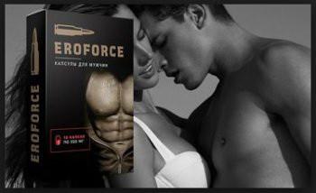 Eroforce - Капсулы для потенции (Эрофорс). Средство для мощной потенции