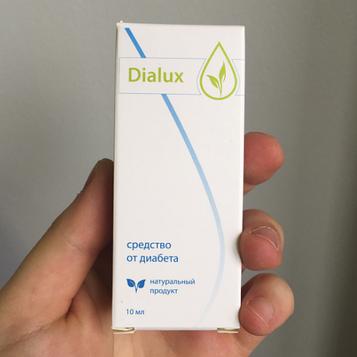 Dialux - Краплі від діабету (Диалюкс)