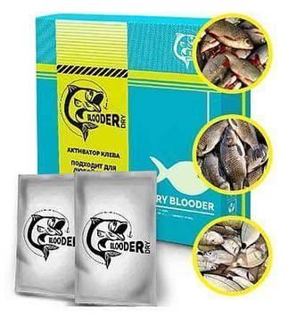 Blooder Dry - активатор клювання з феромонами / суха кров (Блудер Драй)