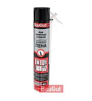 Монтажная полиуретановая пена BauGut 750 мл