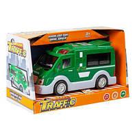 Машина Toysi Городские службы Почта (TOY-52910)