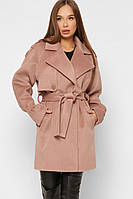 Стильное женское демисезонное пальто-тренч в 3х цветах PL-8865