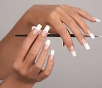 Аппаратная коррекция ногтей, френч