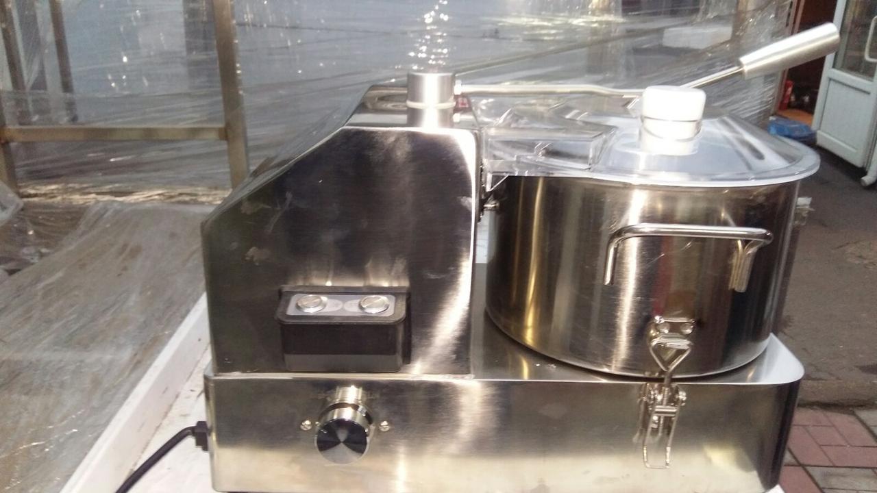Куттер промышленный гастрономический Vektor HR6 (6 литров)