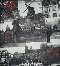 Диван дитячий Шпех 90см ( Амстердам+сірий, малютка розкладний). Диванчик зі спальним місцем 2 метри, фото 2