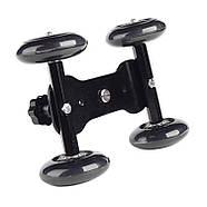 Тележка для видеосъемки, глайдтрек AccPro ST-07 Dolly Kit Skater black для съемки видео, Мини-тележка, фото 4