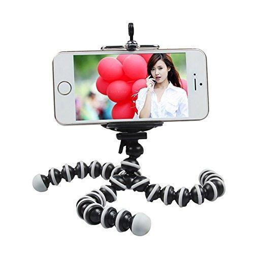 Гибкий селфи штатив осьминог или паук для смартфона с держателем настольный AccPro TM-19SM