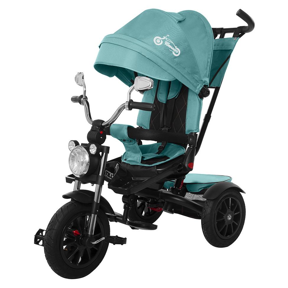 Детский трёхколёсный велосипед Tornado, «Tilly» (T-383), цвет Dark Green (тёмно-зелёный)