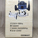 Фрезер Craft-tec PXER 214 (1800 Вт) под 8 и 12 мм цангу, фото 10