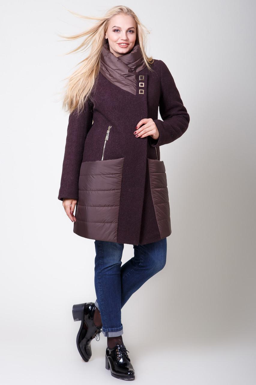 Пальто 2-545Ш Шоколад