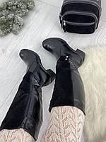 Зимние женские сапоги Натуральная кожа и мех только 40р.