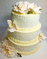 #Свадебный торт на заказ. #Свадебный торт Бровары