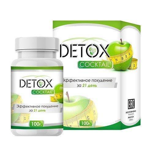 Detox Cocktail (Детокс Коктейль)  - Коктейль для похудения и очищения организма