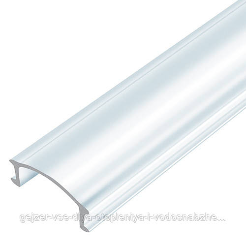 Рассеиватель BIOM прозрачный для алюминиевого профиля