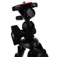 Гнучкий селфи штатив восьминіг або павук для смартфона з держателем настільний AccPro TM-20SM, фото 7