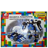 Конструктор Планета Кибертрон Робот трансформер