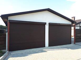 Роллетные ворота для гаража 2500*2000