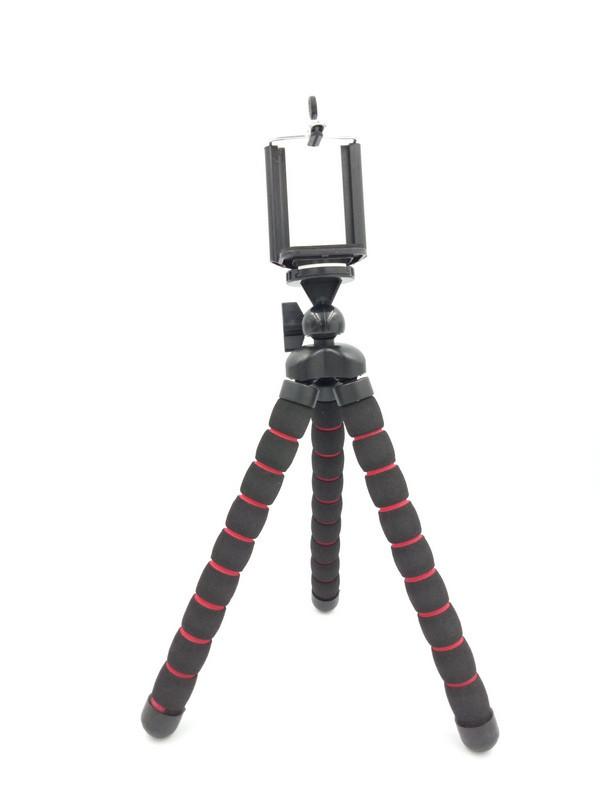 Гнучкий селфи штатив восьминіг або павук для смартфона з держателем настільний AccPro TM-05SM