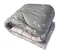 Одеяло из натуральной овечьей шерсти двуспальное теплое бязь голд 100%-овечья шерсть плотность 630г/м2, 180x220см.