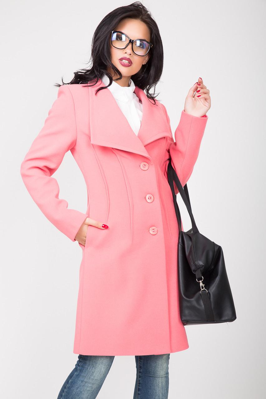Пальто 2-506/9 Розовый жемчуг