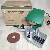 Станок для заточки цепей бензопил Craft-tec Pro CXCS-200
