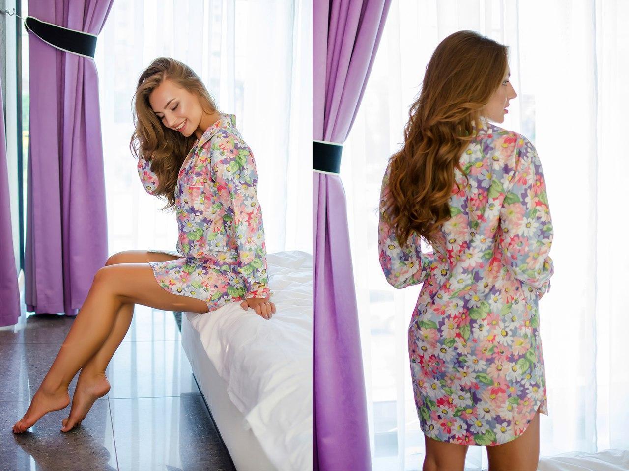 Женская ночная рубашка из натурального хлопка 31odd03