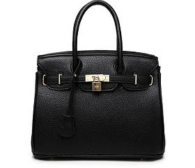Жіноча класична чорна сумочка LA-4