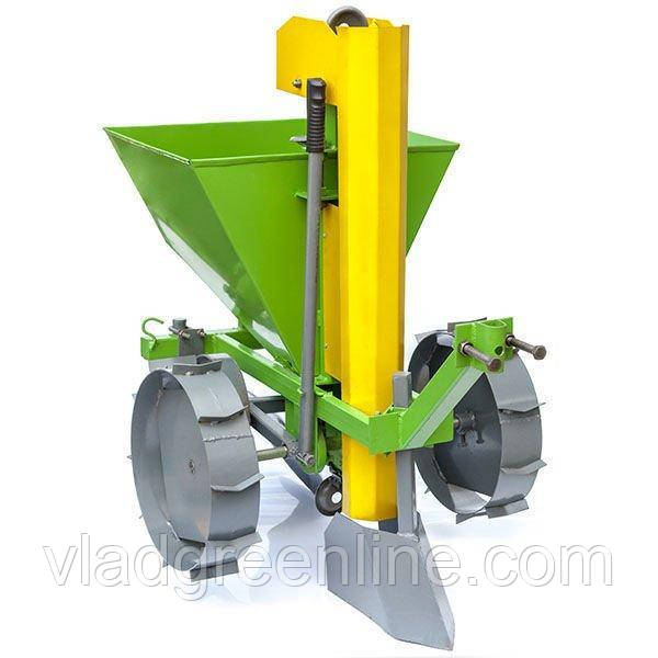 Картофелесажалка Протек КСМ-1 с бункером для удобрений без транспортировочных колес