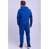Мужской спортивный костюм,цвет электрик,размеры:48,50,52,54,56., фото 3