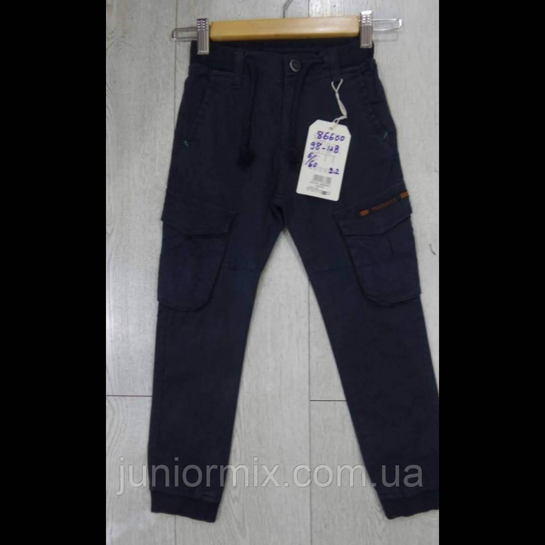 Детские котоновые брюки для мальчиков оптом GRАCE