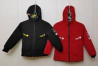 Куртка подростковаядвухсторонняядемисезонная для мальчика от 10до 13лет, цвет как на фото