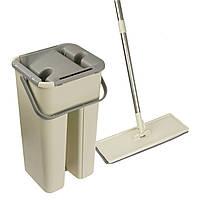 Швабра Easymop Self-Wash с ведром с самоотжимом, фото 1