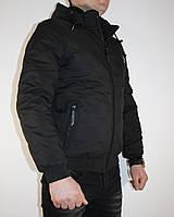 Мужская стильная демисезонная куртка на манжете