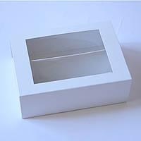 Коробка для макаронс на 10-12 шт. (с окошком), фото 1