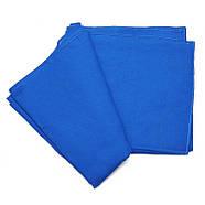 3х3м Фон студийный тканевый Visico PBM-3030 blue Chroma Key синий хромакей, фото 3