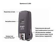 Радиосинхронизатор Visico VC-16 C1 Kit for Canon, фото 5