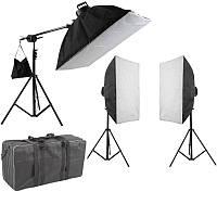 3850Вт Набір постійного світла Visico FL-307 (50х70см) Triple Kit