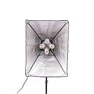 2400Вт Набор постоянного света Visico FL-306 (50x70см) Double Kit, фото 3