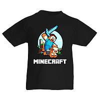 Детская футболка Minecraft 5 (Майнкрафт)