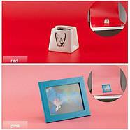 100x200см ПВХ красный Фон для съёмки Visico PVC-1020 Red, фото 2