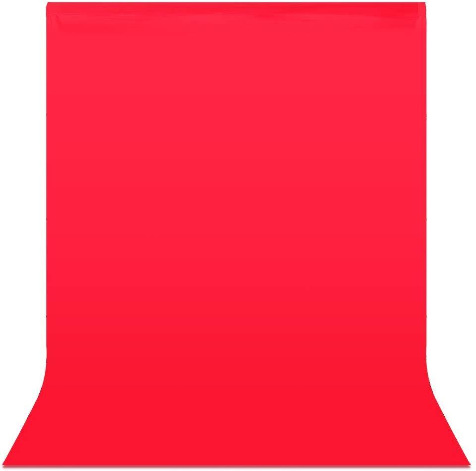 3х6м Фон студийный тканевый Visico PBM-3060 red - красный