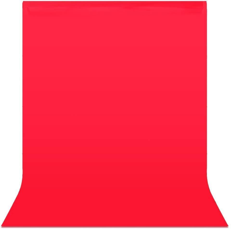 3х3м Фон студийный тканевый Visico PBM-3030 red - красный